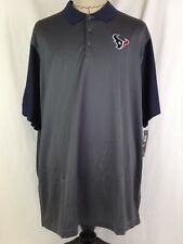 Nike Houston Texans Mens Polo Shirt 3XL Sz Golf Football Shirt AFC South NFL NWT