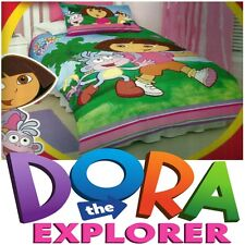 Dora The Explorer Kids Duvet | Doona Quilt Cover Set | US Twin | Single