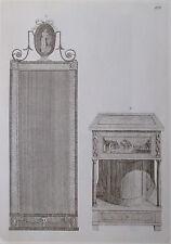 Pfeilerspiegel Konsole - Reprint aus 1795 Möbel print