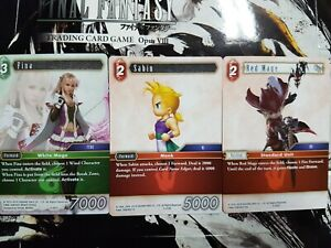 Final Fantasy TCG Opus VIII Common  - YOU PICK FROM LIST!