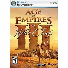Age of Empires III The War Chiefs Expansion Pack Add-On Windows PC Computer Game