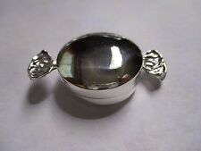 Sterling Silver Pill Box large Candy wrap 925 solid silver gorgeous 2 inch long