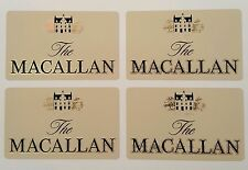 The Macallan scotch whisky sticker set of 4