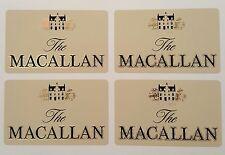 The Macallan scotch whisky sticker set of 4