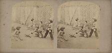 Vue Stéréo Jeux d'enfants 1860