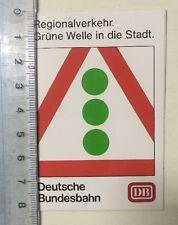 Aufkleber/Sticker: DB - Deutsche Bundesbahn-Grüne Welle In Der Stadt (030316178)