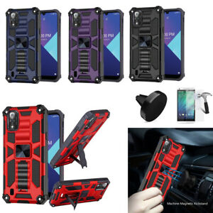 """Phone Case For Boost Wiko Ride 3 (6.09"""") shock absorbing Cover Kickstand"""
