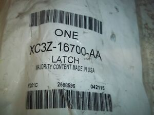 GENUINE  FORD  HOOD  LATCH  PART NUMBER    XC3Z-16700-AA