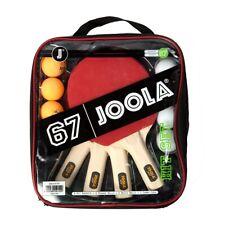 JOOLA HIT Table Tennis Rackets & Balls Set