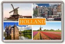 FRIDGE MAGNET - HOLLAND - Large - Netherlands TOURIST