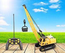 Construction Crane Kids Toy Functional Machine Truck Light Sound Remote Control