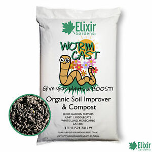 Worm Manure Castings 100% Organic Bio Humus/Vermi Seeding Compost/Soil Improver