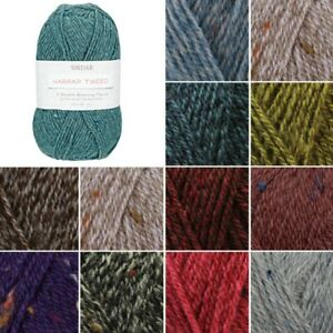 Sirdar Harrap Tweed DK Double Knitting Knit Crochet Crafts 50g Ball Wool