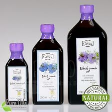 RAW BLACK SEED OIL - Black Cumin (Nigella sativa), Cold Pressed Ol'Vita