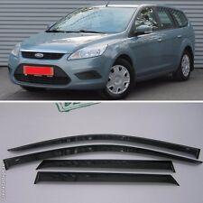For Ford Focus II Wagon 2004-2011 Window Visors Sun Rain Guard Vent Deflectors