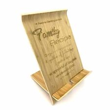 Wooden Tablet / Book Stand (small) - Personalised
