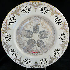 """Millennium Collection Plate Messengers of Harmony Lenox 2000 10.5"""" Made In Usa"""