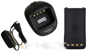 1+1 BL2001L Battery Charger Set for HYT TC-610 TC-610P  Li-Ion