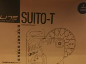 Elite Suito-T  Direct Drive Smart Bicycle Trainer - Zwift  & Peloton Ready