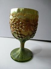 """Antique An Original Issue Imperial Grape Water Goblet Wines Glass Grape Rare""""F90"""