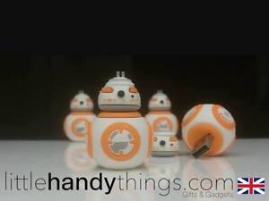 Star Wars BB8 Robot 8GB/16GB USB Novelty Flash Drive Pen Portable Memory Storage