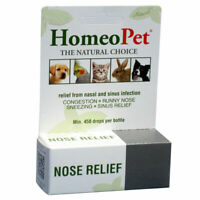 HomeoPet Pet Nose Natural Relief Nasal & Sinus Infection 15ml Made in USA