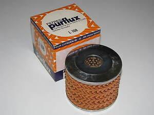 Ölfiltereinsatz - Purflux L 108 - Citroen ID - D - DS
