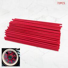 Universal Spoke Wrap Cover Enduro Wheel Rim Wheel Covers Trim Wraps Red 17cm