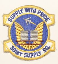 USAF Air Force Patch:  301st Supply Squadron - 3""