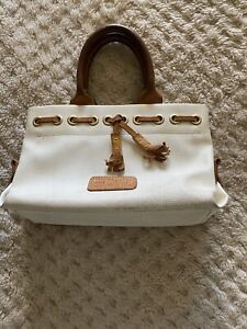 Dooney bourke Leather handbags , Tan Brown Sz Small