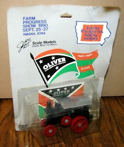 Oliver Hart Parr 22-45 Tractor 1/64 Scale Models Toy 1990 Farm Show steam engine