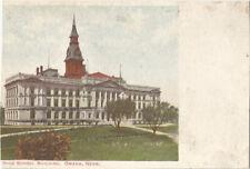 Omaha, High School Building, unposted