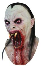Halloween VIPER VAMPIRE WITH FANGS Adult Latex Deluxe Mask Ghoulish Productions