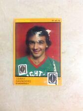 Scanlens 1982 QRL - #41 - Terry Saunders - Wynnum Manly