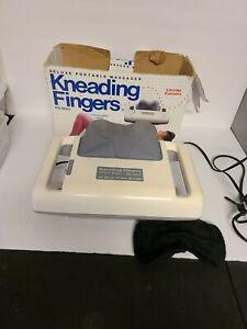 Kneading Fingers Deluxe Model KS-8001 Portable Body Back Massager Used In Box