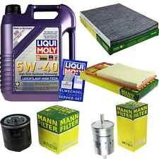 Inspektionskit Filter Liqui Moly Oil 5L 5W-40 for Seat Leon 1M1 1.6