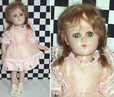 "15"" Antique Arranbee R&B Composition Doll All Original Clothes Mohair Wig"