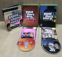 Original Xbox Grand Theft Auto 3 Vice City Rockstar Games Double Pack Complete
