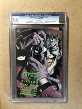 BATMAN THE KILLING JOKE CGC 9.8  1st Printing. Damaged Case. Read Description.