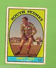 #D112. 1968 SERIES 1 RUGBY LEAGUE CARD #40 JIMMY LISLE, SOUTH SYDNEY