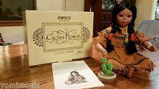 "New & Original Box ""Cactus Flower"" Doll 1994 by Perillo.Artaffects. Danbury Mint"
