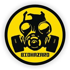 Bio-Hazard Gas Mask Gaming PC Sticker   Laptop Notebook Desktop Computer Decal