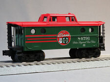 """LIONEL SANTA FREIGHT LINES """"The Claus"""" CABOOSE O GAUGE train snow 6-84787-C NEW"""