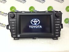 2010 2011 Toyota Prius JBL GPS Navigation System MP3 4 Disc Changer Radio E7022