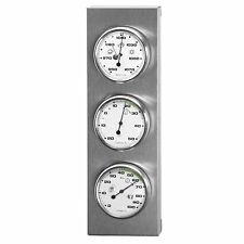 In Outdoor Weather Station Barometer Stainless Steel Good Quality Instrument New