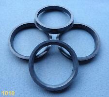 4x  Zentrierringe 74,1 mm  57,1 mm  für Alufelgen schwarz 1418