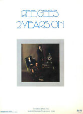 BEE GEES - 2 YEARS ON Vintage Sheet Music Book 1971 Piano / Guitar - Lonely Days