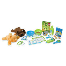 Melissa And Doug Feeding And Grooming Pet Care Play Set NEW Cat Dog