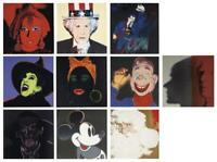 Andy Warhol, Myth Portfolio, 1981 silkscreen Proof edition with diamond dust