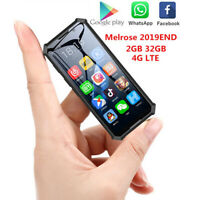 """3.5"""" Smartphone 4G Network WiFi Small Fingerprint Face Recognion Mobile Phone"""